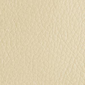 Leather look ivoor