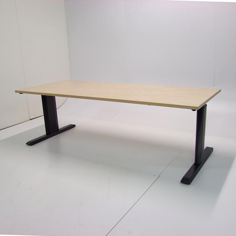 Gebruikt ahorn bureau 160x80cm Officetopper