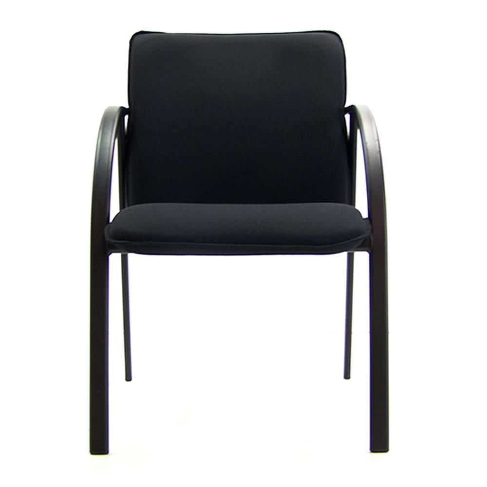 gebruikte zwarte conferentiestoel Officetopper gebruikt kantoormeubilair