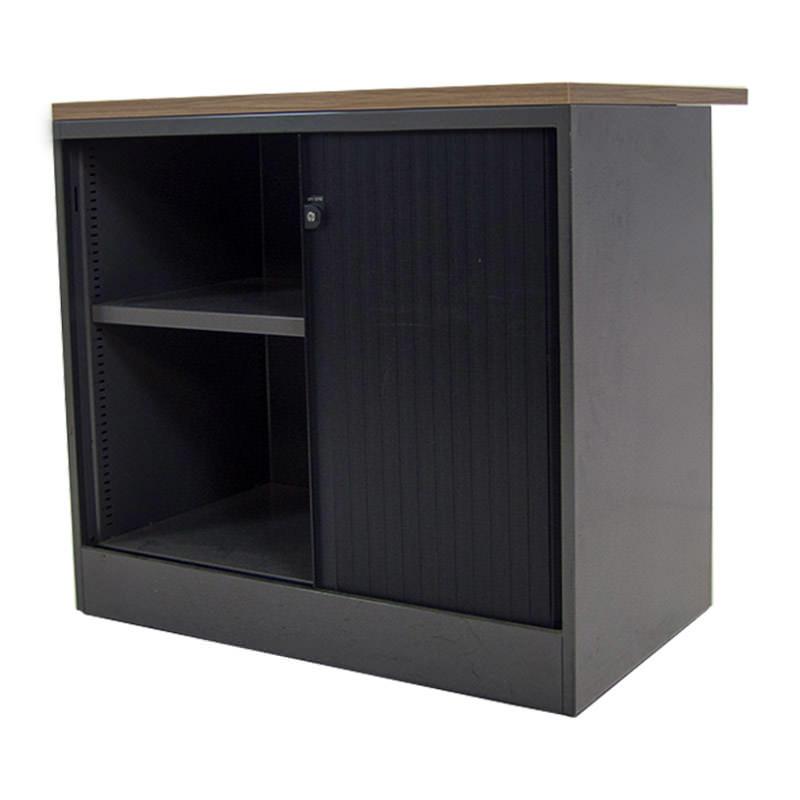 Gebruikte lage roldeurkast Ahrend Officetopper kantoorkasten
