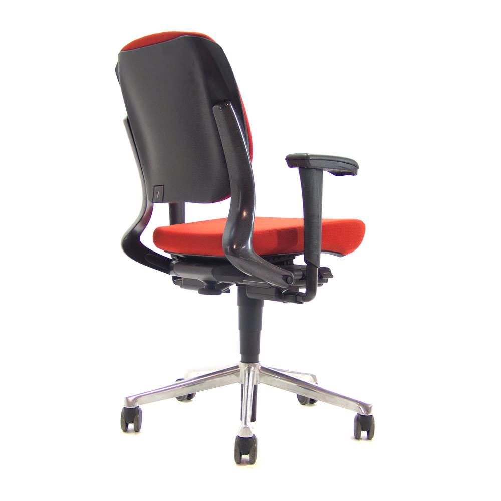 Gebruikte bureaustoel Ahrend 230 met lage rug Officetopper