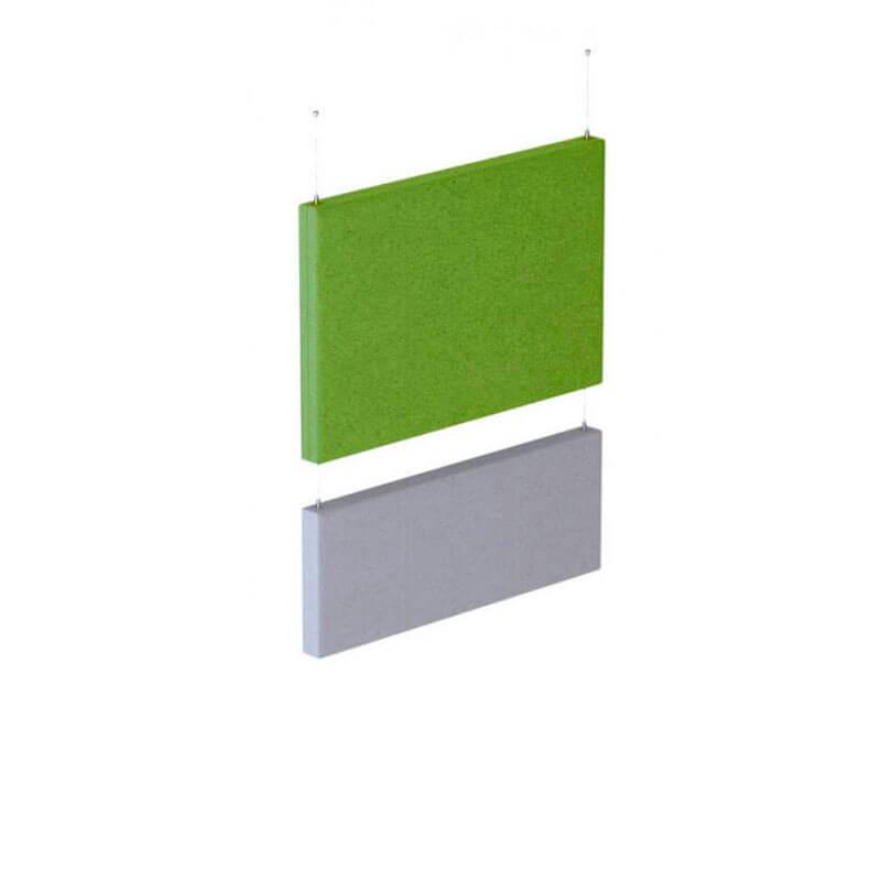 Hangende akoestische panelen Officetopper