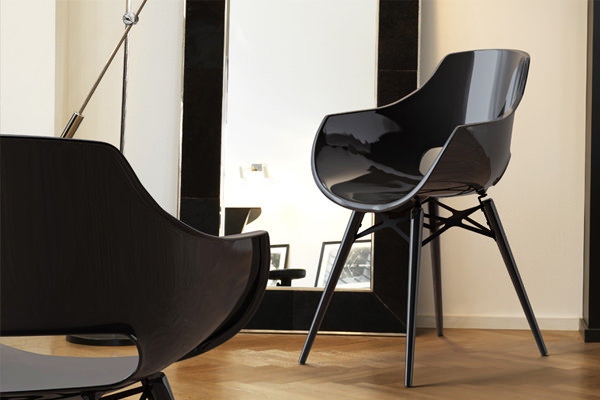 Papatya Opal Wox Designstoel Officetopper kantinestoelen vergaderstoelen en eetkamerstoelen