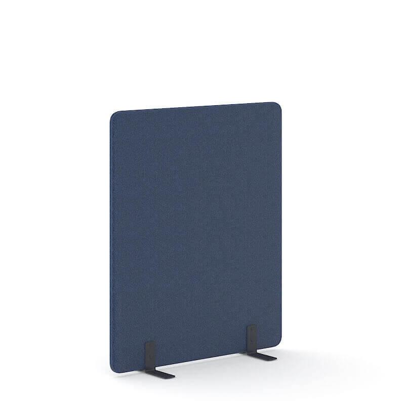 Vrijstaande donkerblauwe scheidingswand 140cm hoog