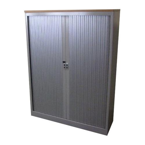 Gebruikte aluminium roldeurkast Inofec Officetopper