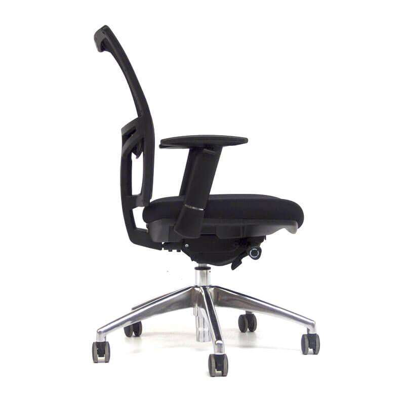 Zwarte Tweedehands o.t. 02 bureaustoel