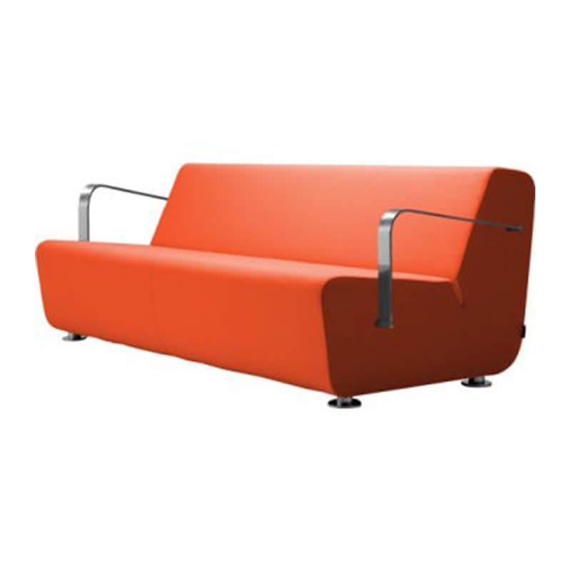 Rood zit element met armleggers Huislijn Aura Officetopper