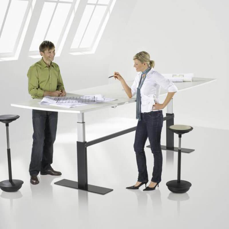 Zit-sta vergadertafel tonmodel