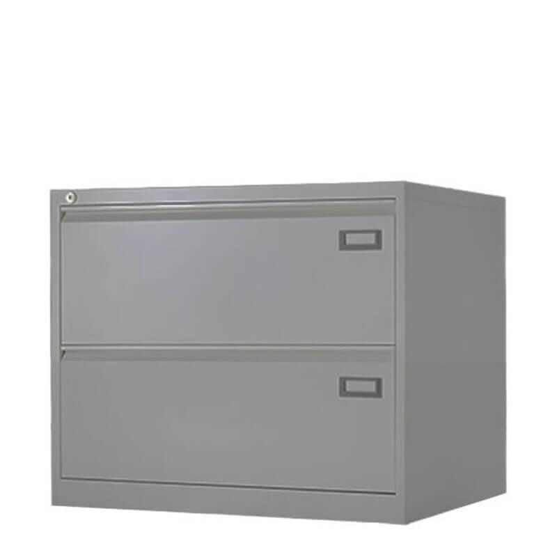 Aluminium lage hangmappenkast Officetopper.com