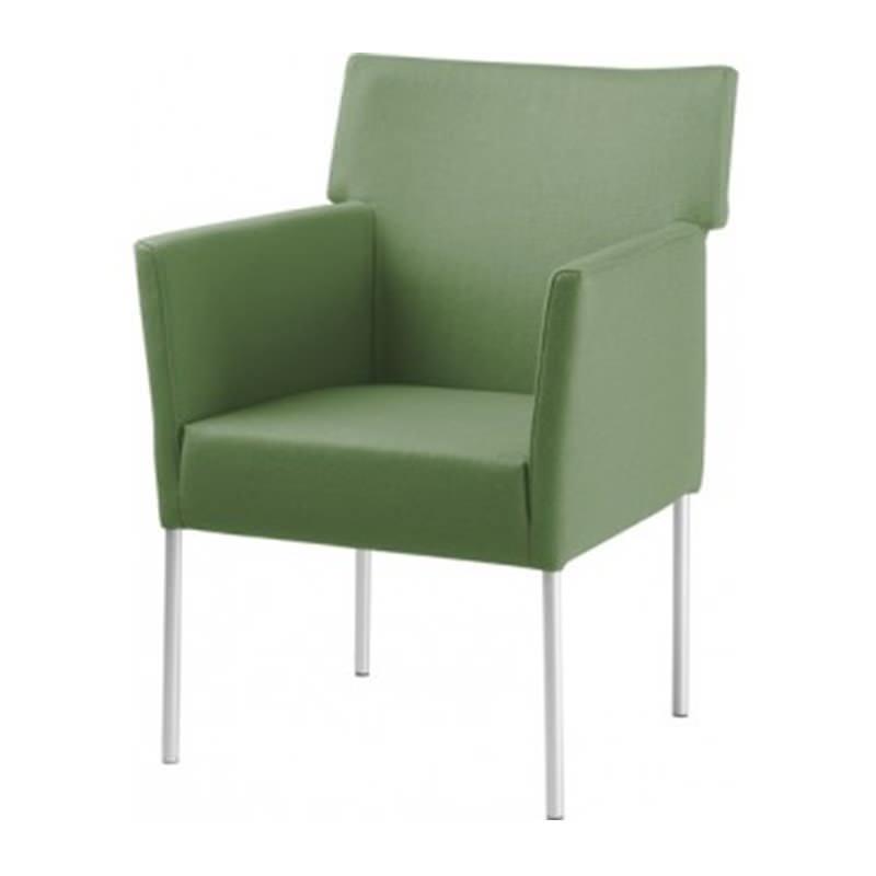 Groene Manou fauteuil van Huislijn - Officetopper.com