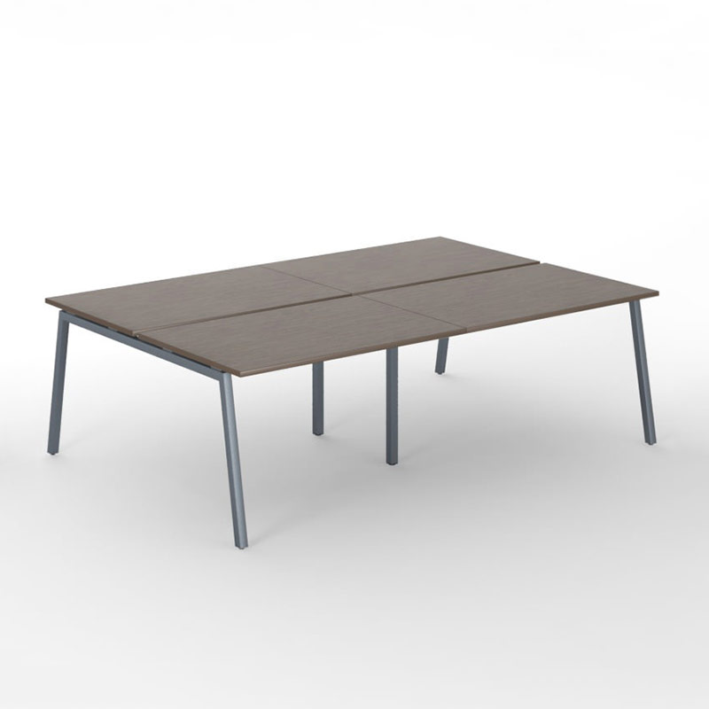 4-desk bench Nova A Officetopper kantoormeubelen