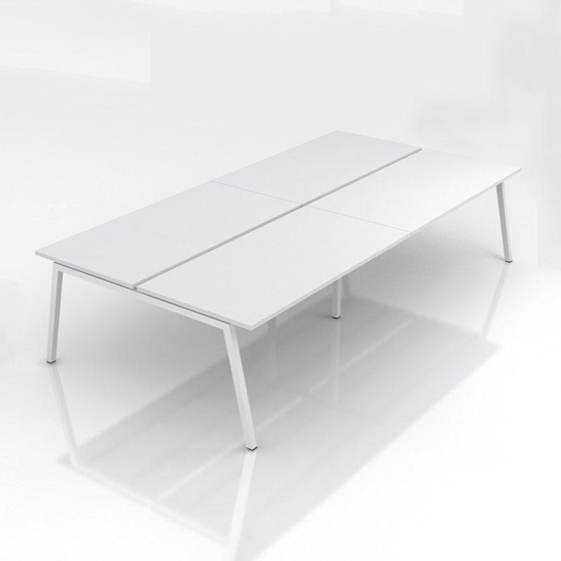 witte 4-desk bench Nova A Officetopper