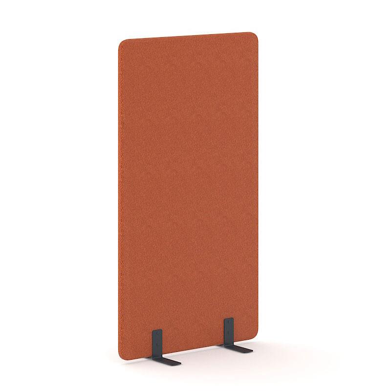 Oranje scheidingswand 180cm hoog Officetopper kantoormeubelen