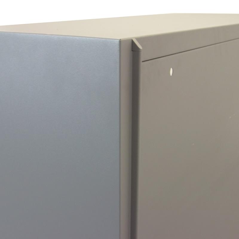 Gebruikte Bulo KRS roldeurkast middelhoog Officetopper tweedehands kantoorkasten