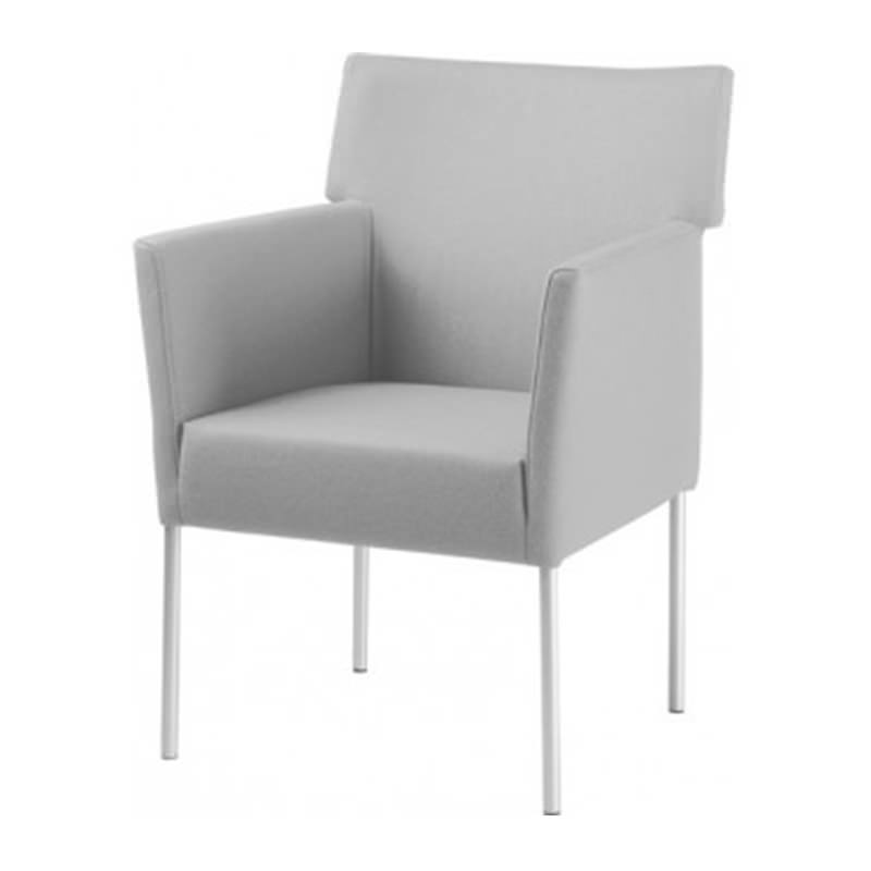 Grijze fauteuil Manou Officetopper
