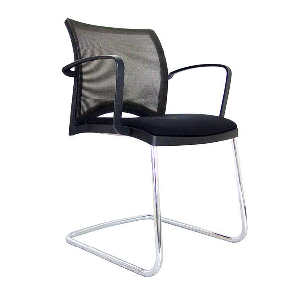 Viasit Linea Netweave conferentiestoel Officetopper tweedehands Viasit stoelen