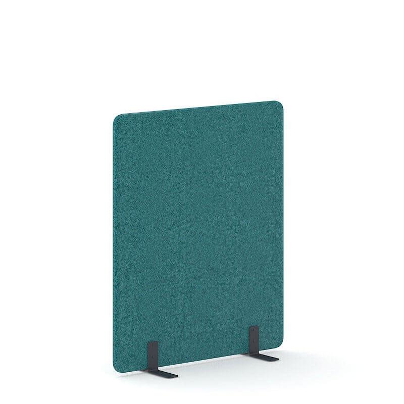 Turquoise scheidingswand kantoor akoestiek Officetopper