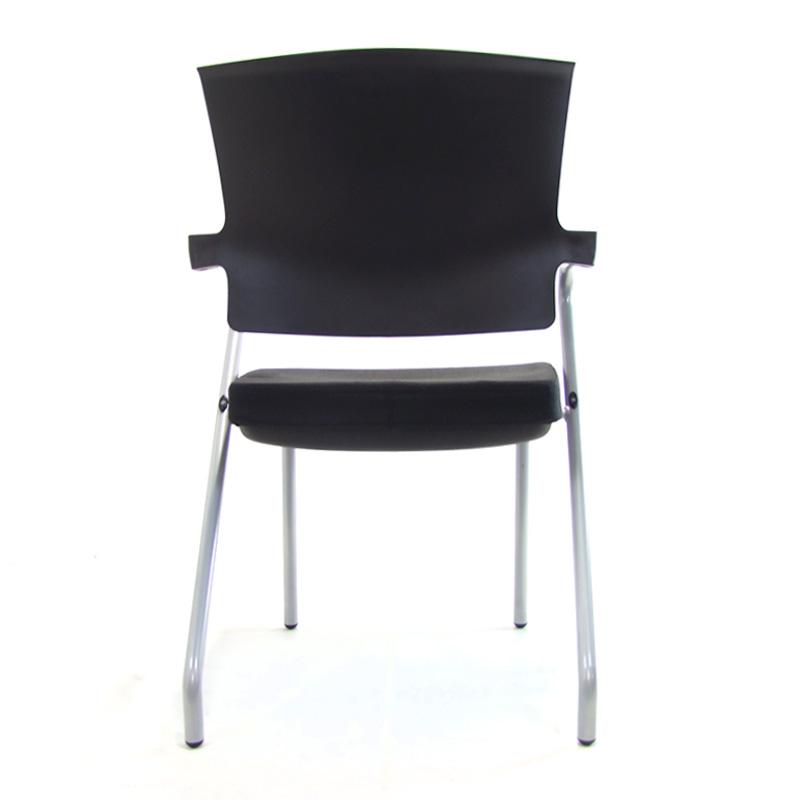 Zwarte conferentiestoel vergaderstoel Z-chair