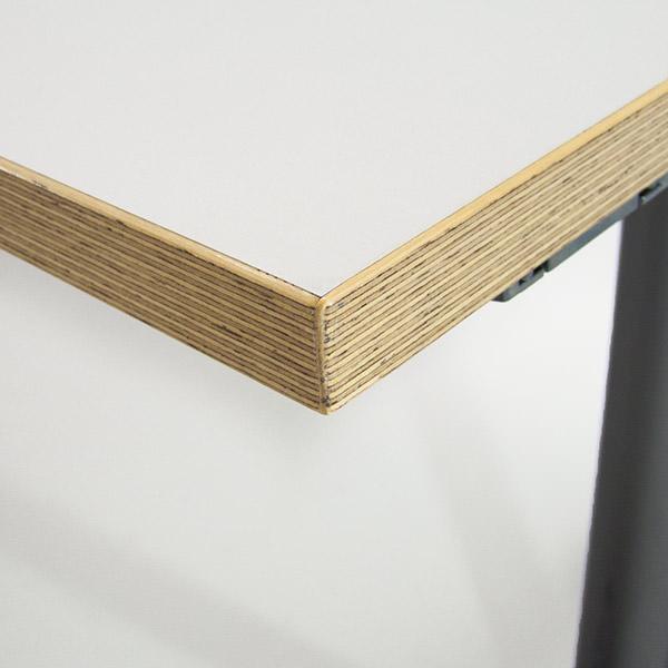Tweedehands klaptafel Ceka met massief multiplex randafwerking