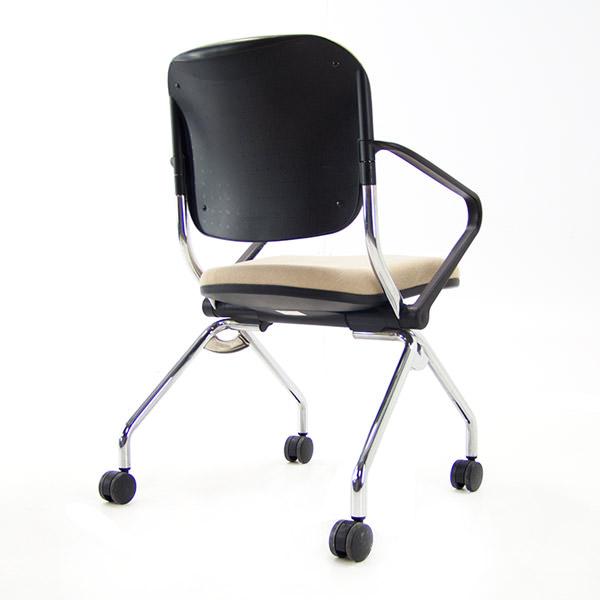 Conferentiestoel beige stoffering Comforto x99 Officetopper kantoormeubilair
