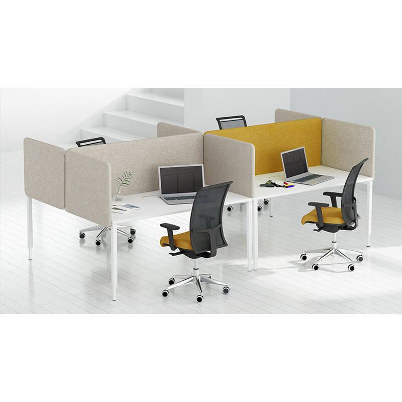 Akoestische scheidingswand voor bureaus Officetopper