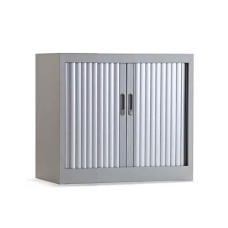 Lage aluminium roldeurkast 80cm breed 73cm hoog