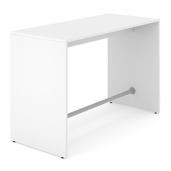 Witte statafel Officetopper kantoor meubilair