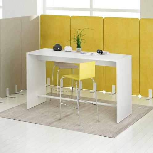 Bartafel statafel Ligth 160x70x105cm Officetopper voordelige bartafels kopen
