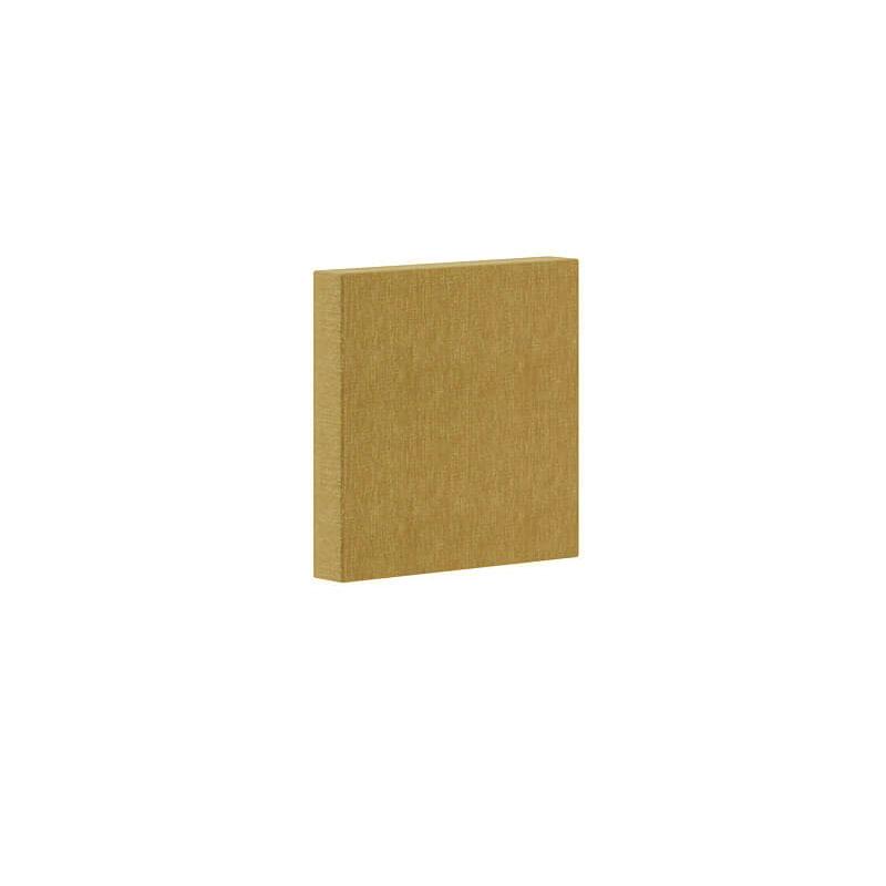 Klein vierkant akoestisch wandpaneel in Berta stoffering Officetopper