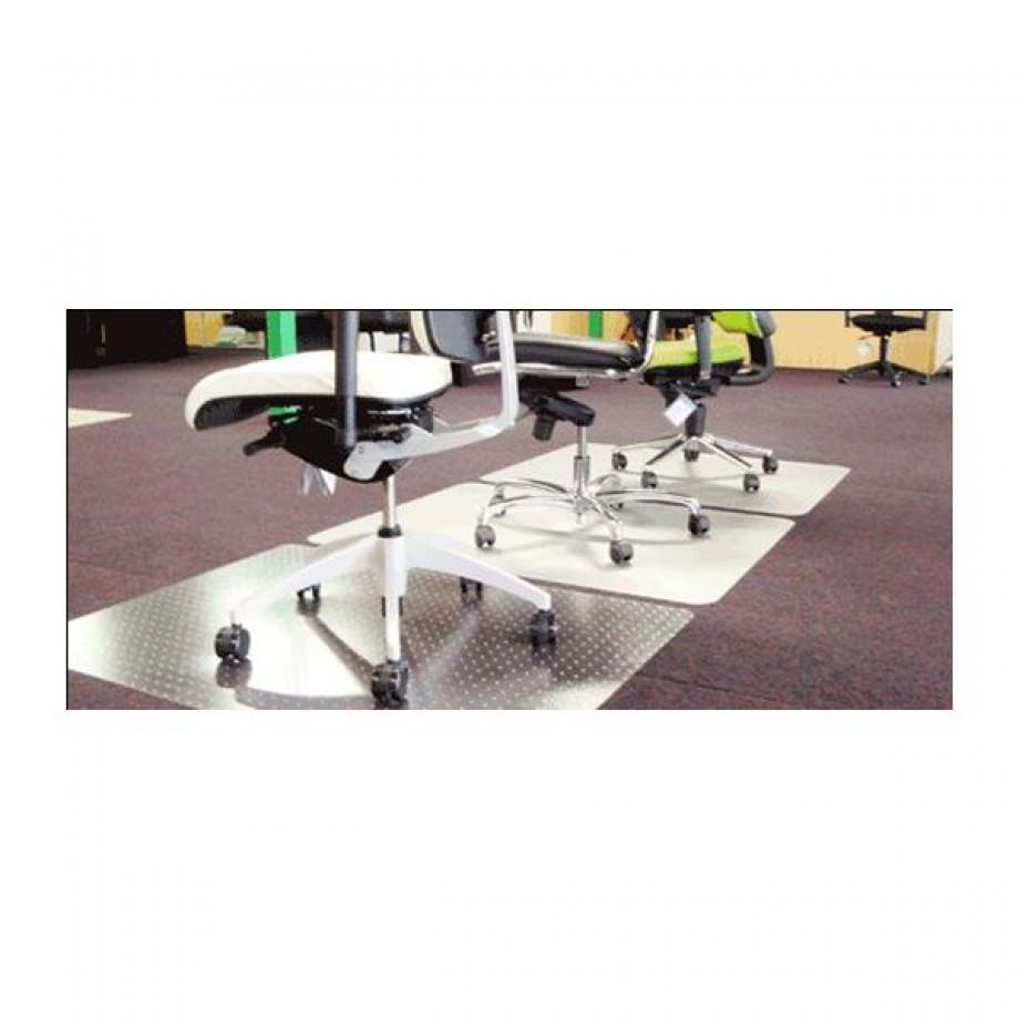 Beschermende vloermat 90x120cm - harde vloer