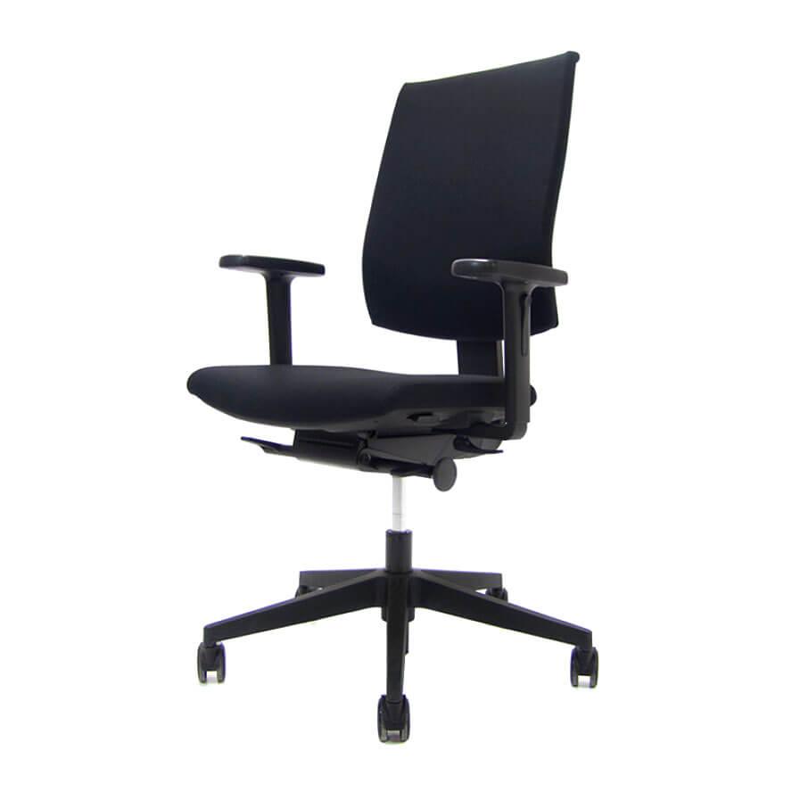 zwarte Kyra bureaustoel Officetopper