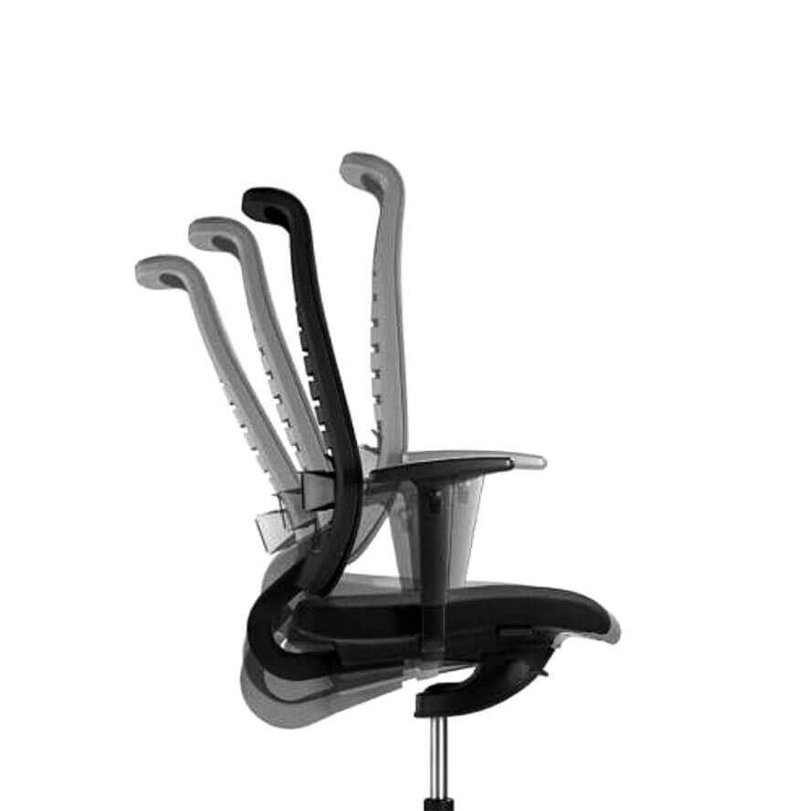 Kantelmechanisme Reflex bureaustoel Officetopper