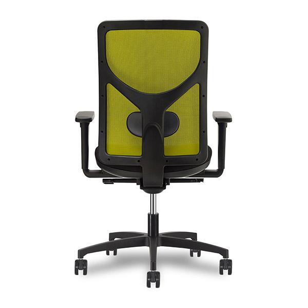 Groene mesh rug Sit1 bureaustoel Officetopper.com
