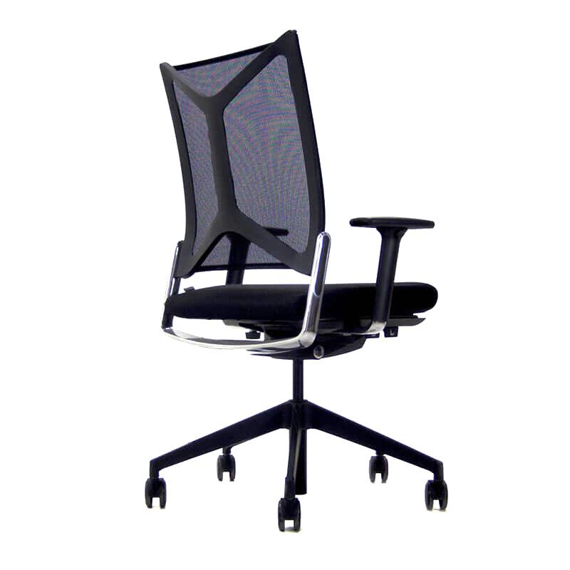 Camiro bureaustoel met netbespannen rug Officetopper