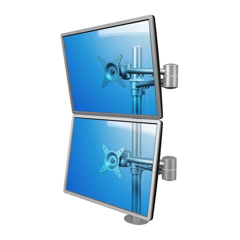 Dubbele verstelbare Monitorarm Dataflex Viewmate  68 Officetopper