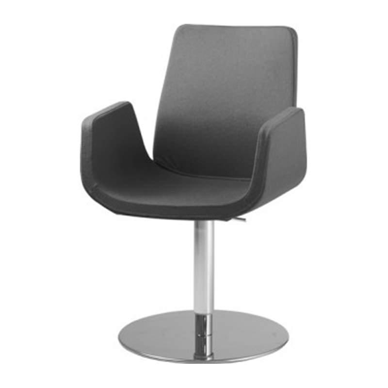 Zwarte fauteuil Nero kopen Officetopper