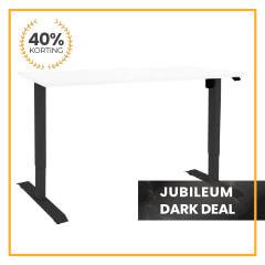 Zit-sta bureau Flex Basic | Jubileum Dark Deal