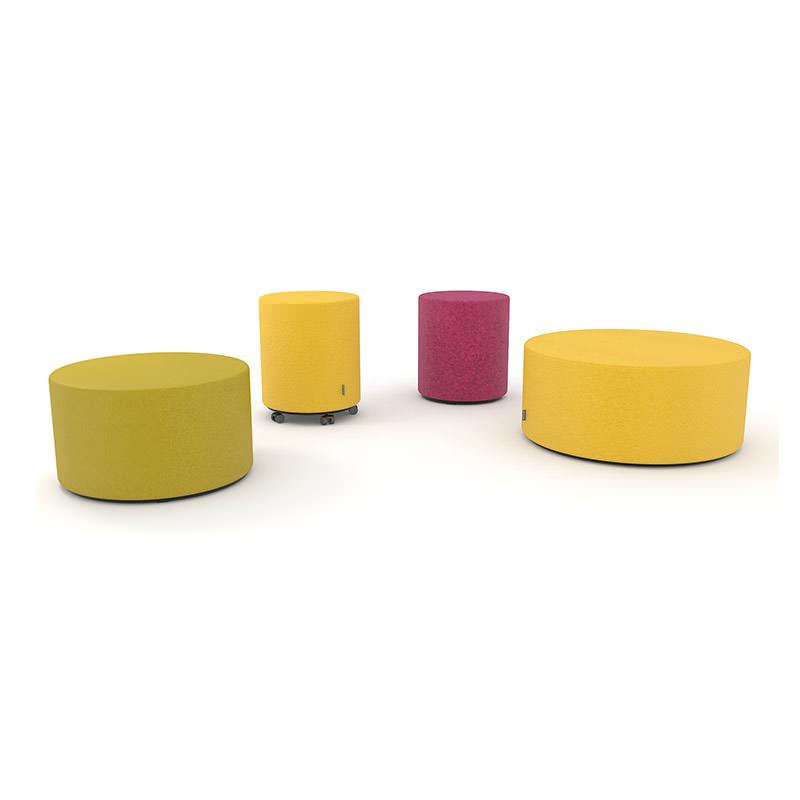 Giro poefs in allerlei kleuren en maten Officetopper kantoormeubelen