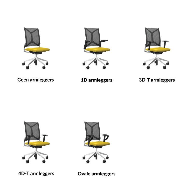 Diverse Bureaustoel Girsberger Camiro Officetopper