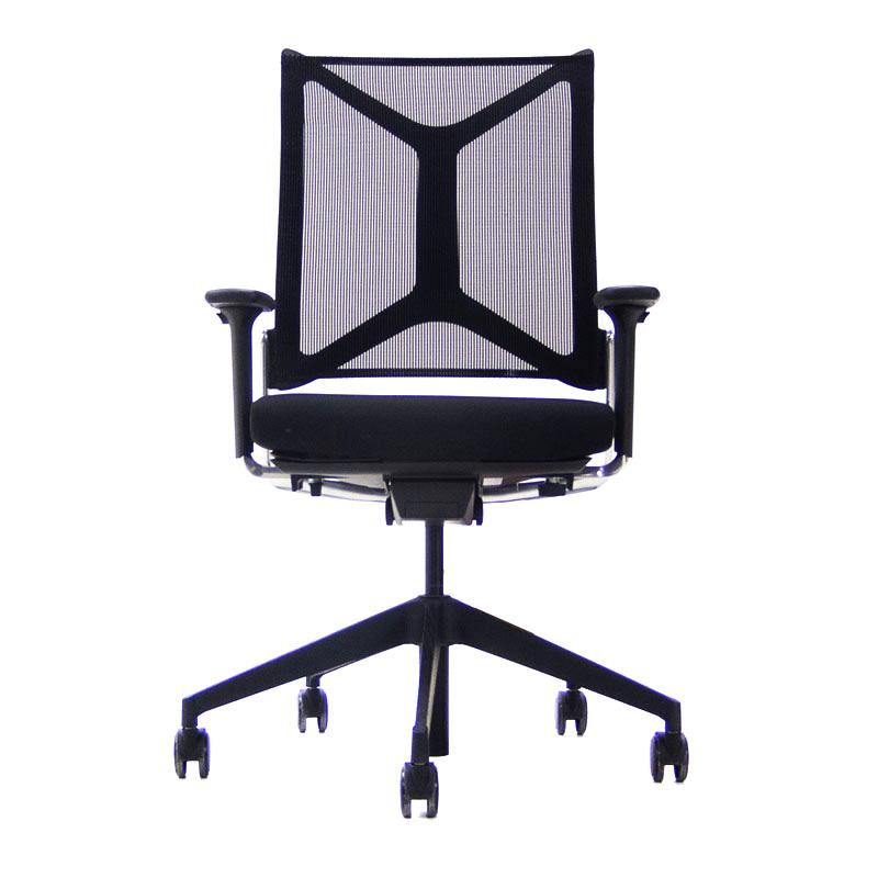 Zwarte Girsberger Camiro Bureaustoel Officetopper