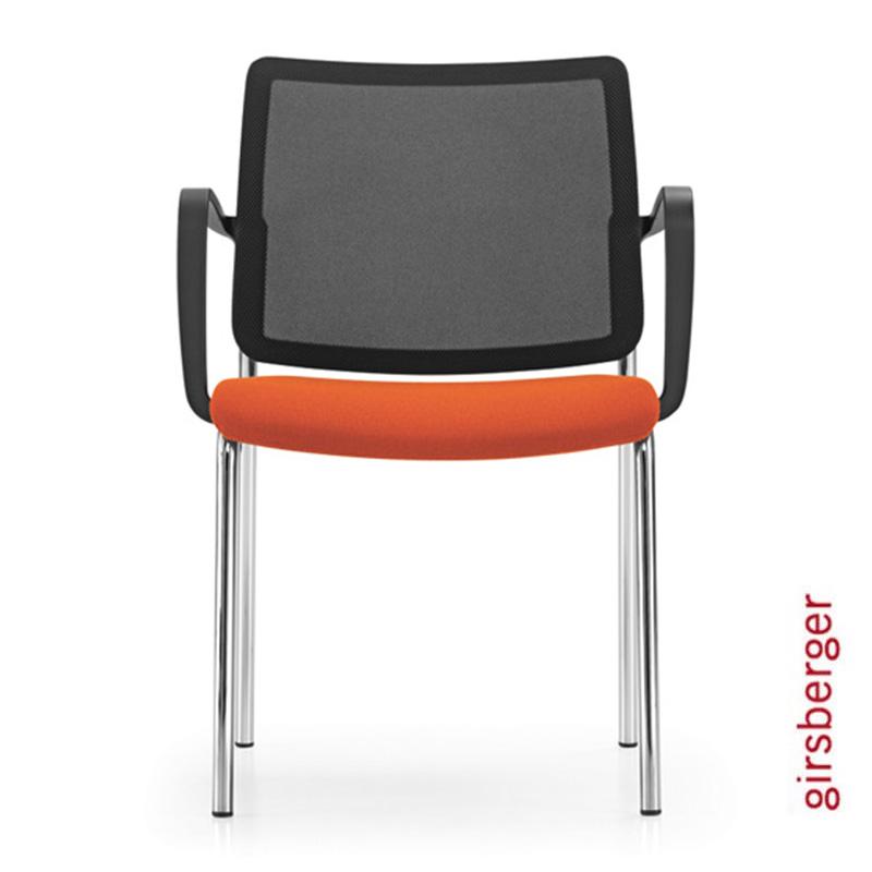 Sledemodel-conferentiestoel-Girsberger-Yanos-Officetopper-kantoormeubelen