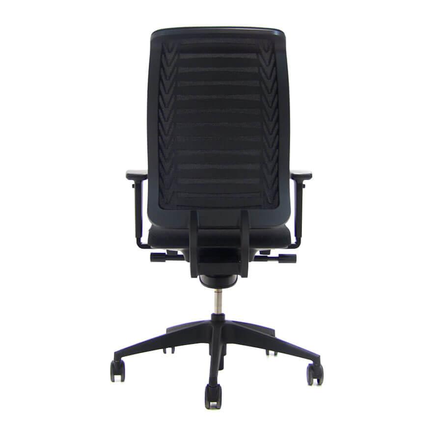Zwarte Girsberger Reflex stoel Officetopper