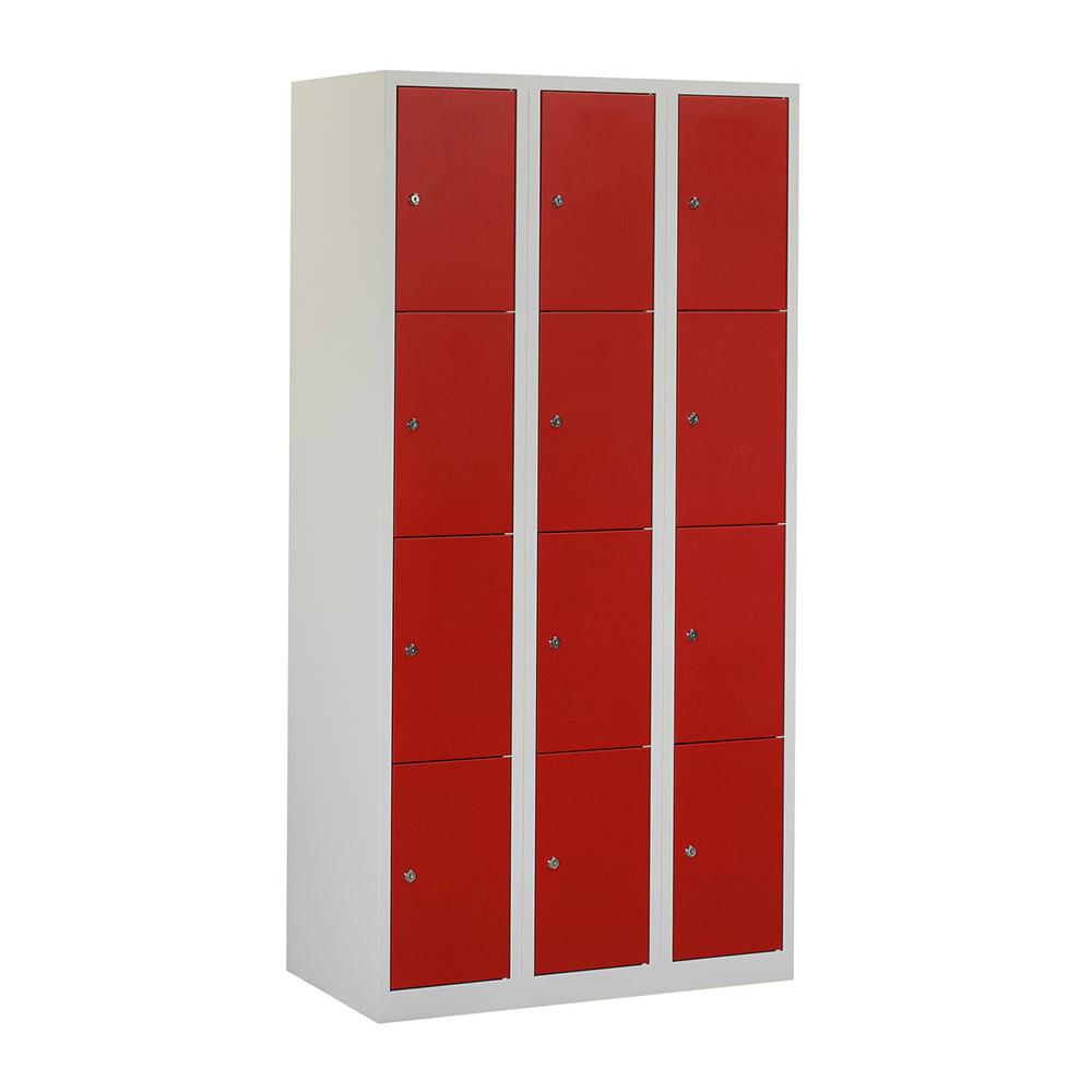 grijze-locker-3-kolommen---12-rode-deuren-Officetopper