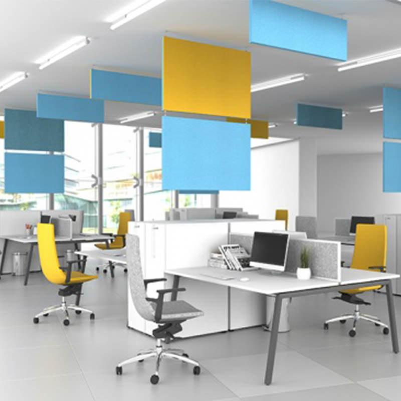 Hangende akoestische panelen kopen op Officetopper.com