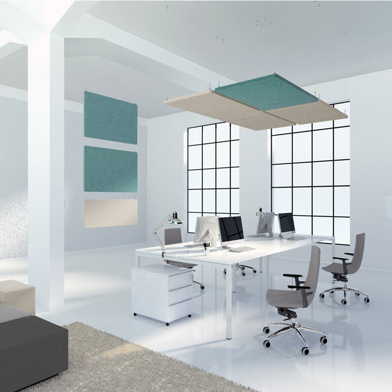 Modus Horizontaal hangende plafond panelen akoestisch