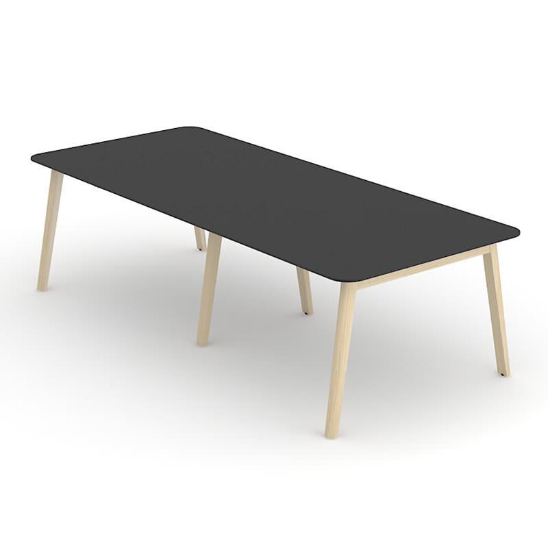 Nova Wood grote vergadertafel HPL blad