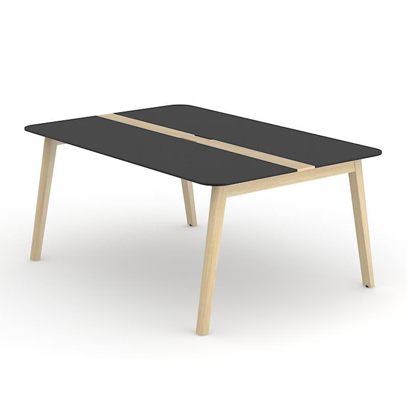 Nova Wood Deluxe   HPL zwart blad