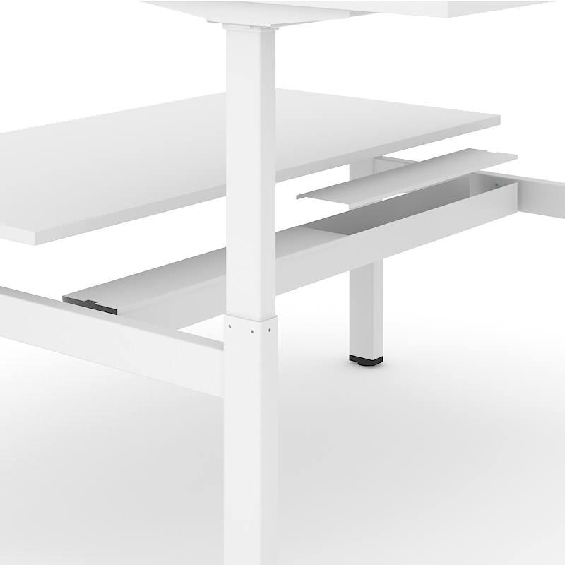 Kabelgoot van bench sta werkplek Motion Officetopper