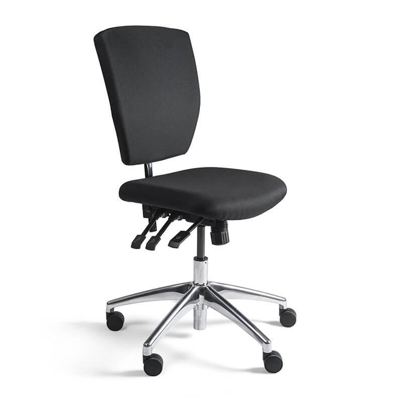 Kassa-stoel-met-aluminium-gepolijste-kruisvoet
