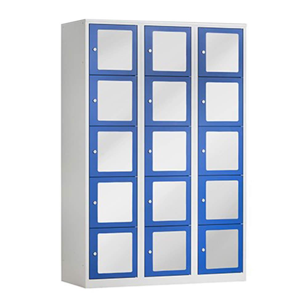 Lockerkast met transparante deuren Officetopper